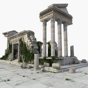 Ancient Ruin Temple 3d model