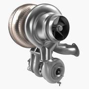 Auto Turbine 3D-Modell 3d model