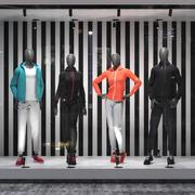 Sport suit set mixed 3 3d model