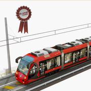 Straßenbahn und Eisenbahn 3d model