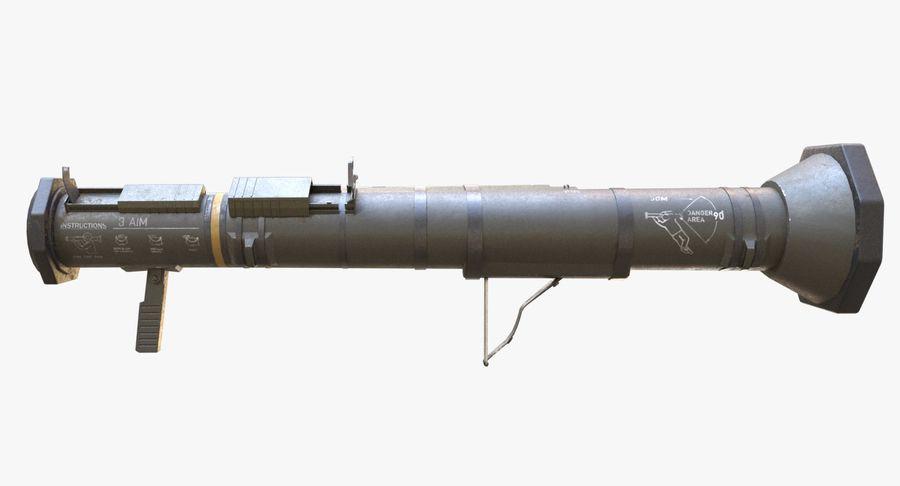 AT4 CS Rocket Launcher royalty-free 3d model - Preview no. 7