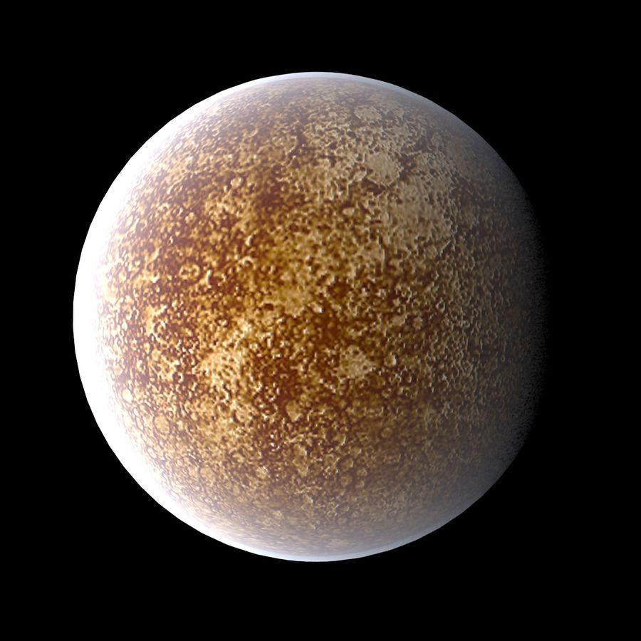 Planetas do Sistema Solar royalty-free 3d model - Preview no. 3