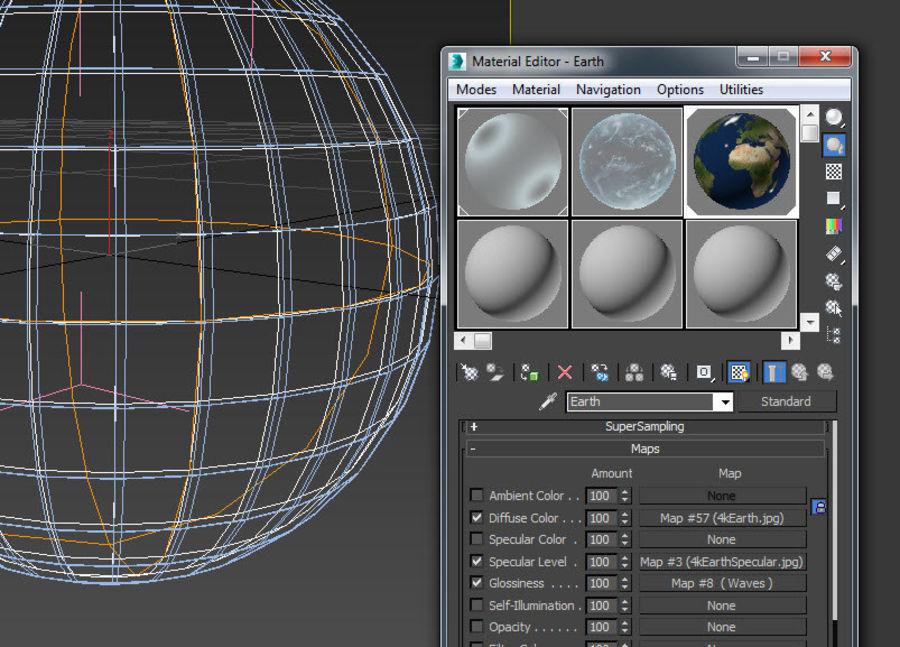 Planeten van het zonnestelsel royalty-free 3d model - Preview no. 12