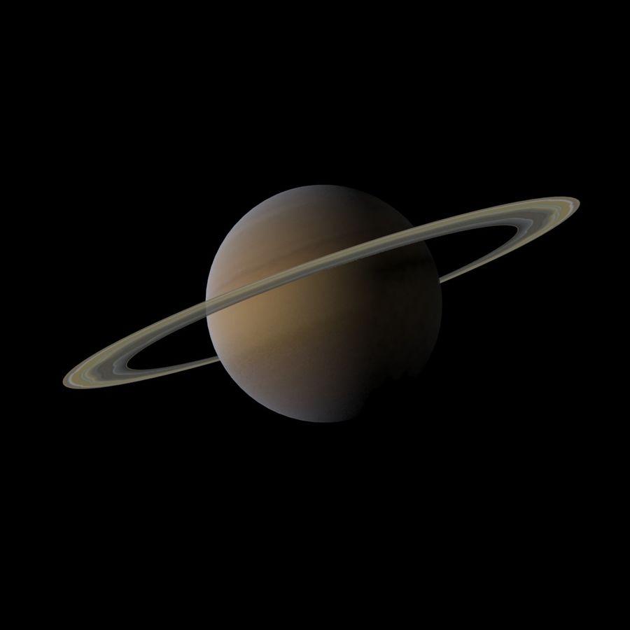 Planeten van het zonnestelsel royalty-free 3d model - Preview no. 8