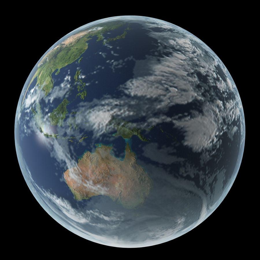 Planetas do Sistema Solar royalty-free 3d model - Preview no. 5
