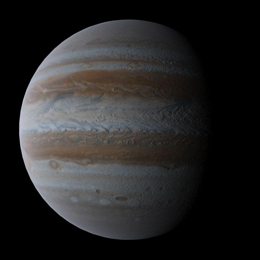 Planeten van het zonnestelsel royalty-free 3d model - Preview no. 7