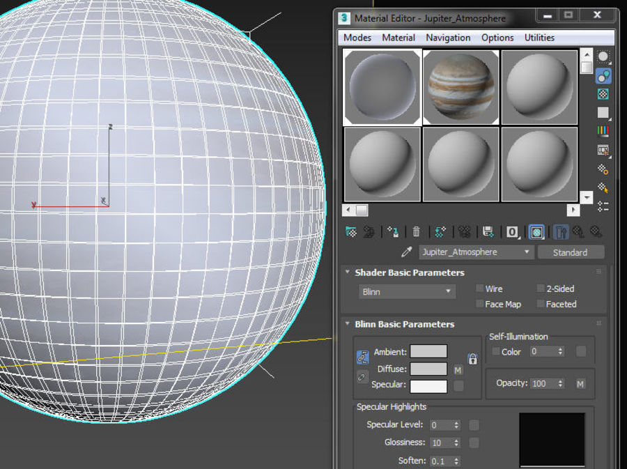 Planeten van het zonnestelsel royalty-free 3d model - Preview no. 14