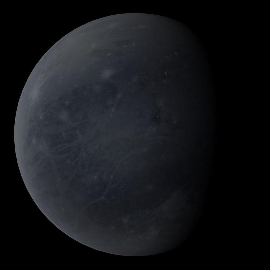 Planeten van het zonnestelsel royalty-free 3d model - Preview no. 11