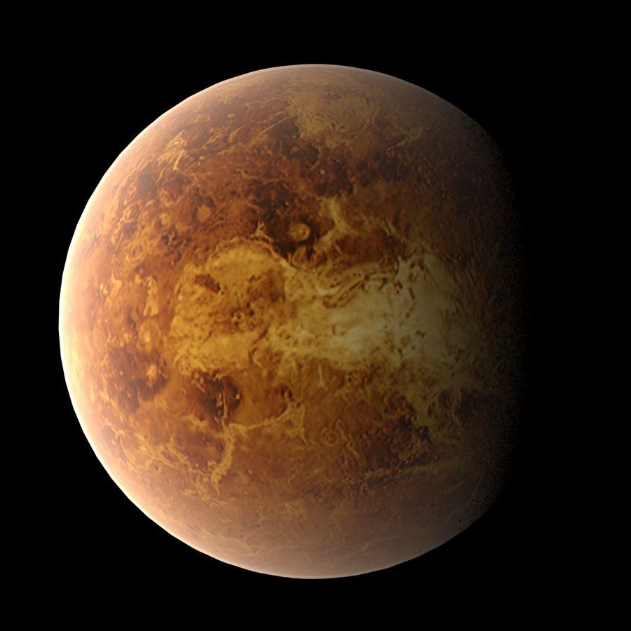 Planeten van het zonnestelsel royalty-free 3d model - Preview no. 4