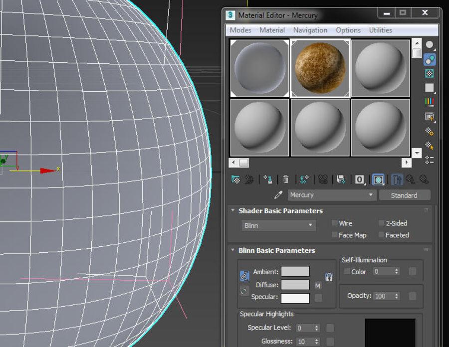 Planeten van het zonnestelsel royalty-free 3d model - Preview no. 16