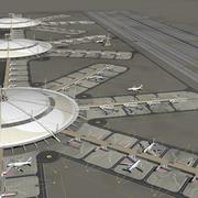 공항 3d model