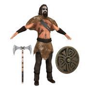 Barbarian V2 3d model