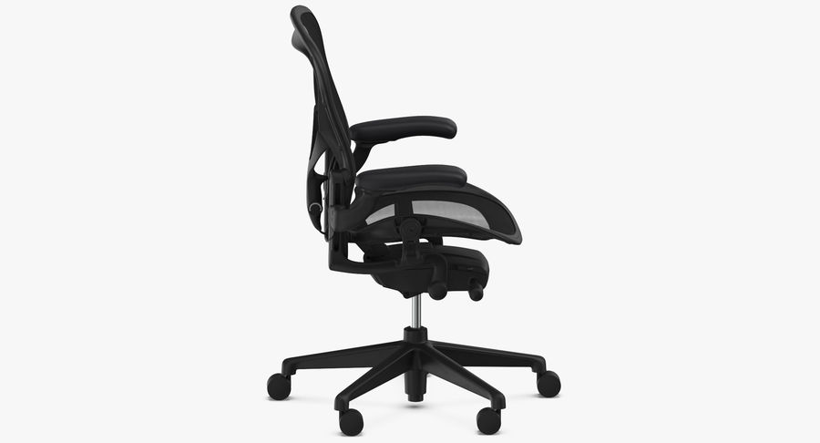 Chaise Herman Miller Aeron - 01 royalty-free 3d model - Preview no. 8