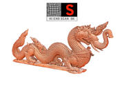 Ancient Dragon Ultra HD 3d model