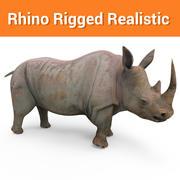 rhinocéros truqué rhinocéros truqué 3d model