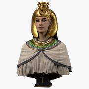 Reine égyptienne 3d model