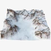 The Biafo Glacier 3d model