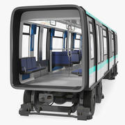 Subway Passenger Wagon 3d model