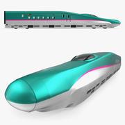 High Speed Train Shinkansen E5 lokomotiv 3d model