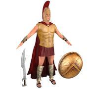Spartan Warrior 2 3d model