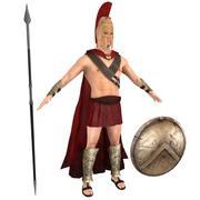 Spartan Warrior 3 3d model