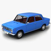 Fiat 124 3d model