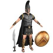 Spartan Black Warrior 3d model