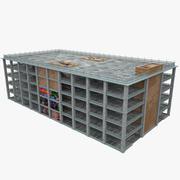 Garaje de Estacionamiento modelo 3d