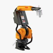 ABB Robotics Irb 5400 6-Axis 7-Axis Painting Articulated Robot 3d model
