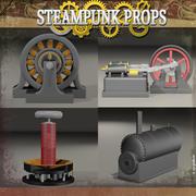 Pack Steampunk 3d model