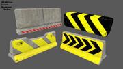 barrier set 8 3d model