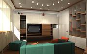 Interior home 3d model