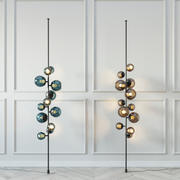 LAMPA PODŁOGOWA OSTATNIEJ NOCY ZAPROJEKTOWANA PRZEZ DAMIEN LANGLOIS-MEURINNE W 2013 3d model