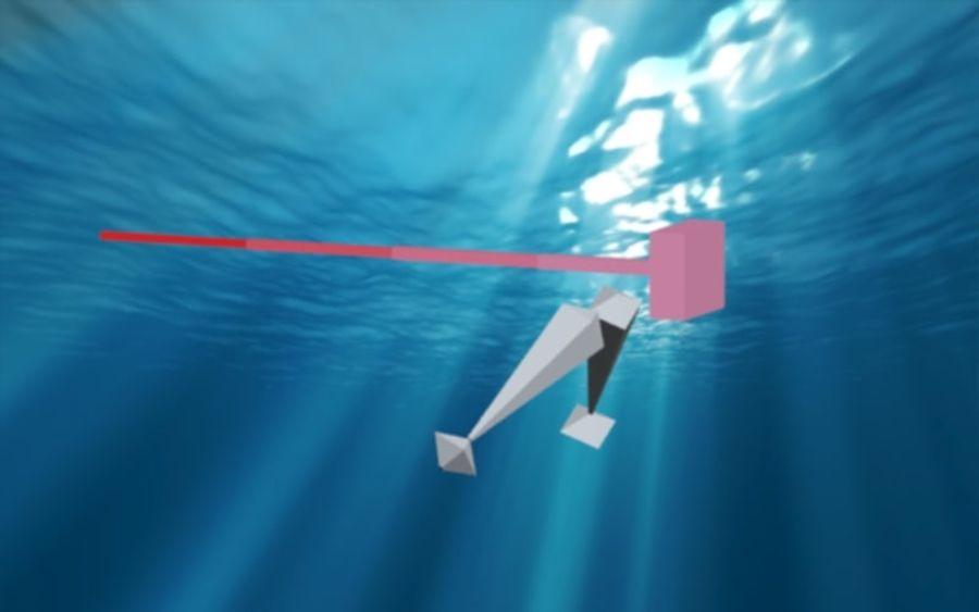 squalo truccato animato royalty-free 3d model - Preview no. 15