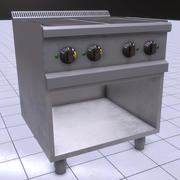 Szybki piec elektryczny PBR 3d model
