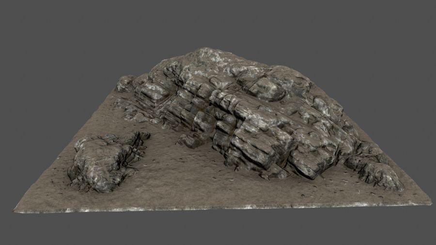 klif rots royalty-free 3d model - Preview no. 8
