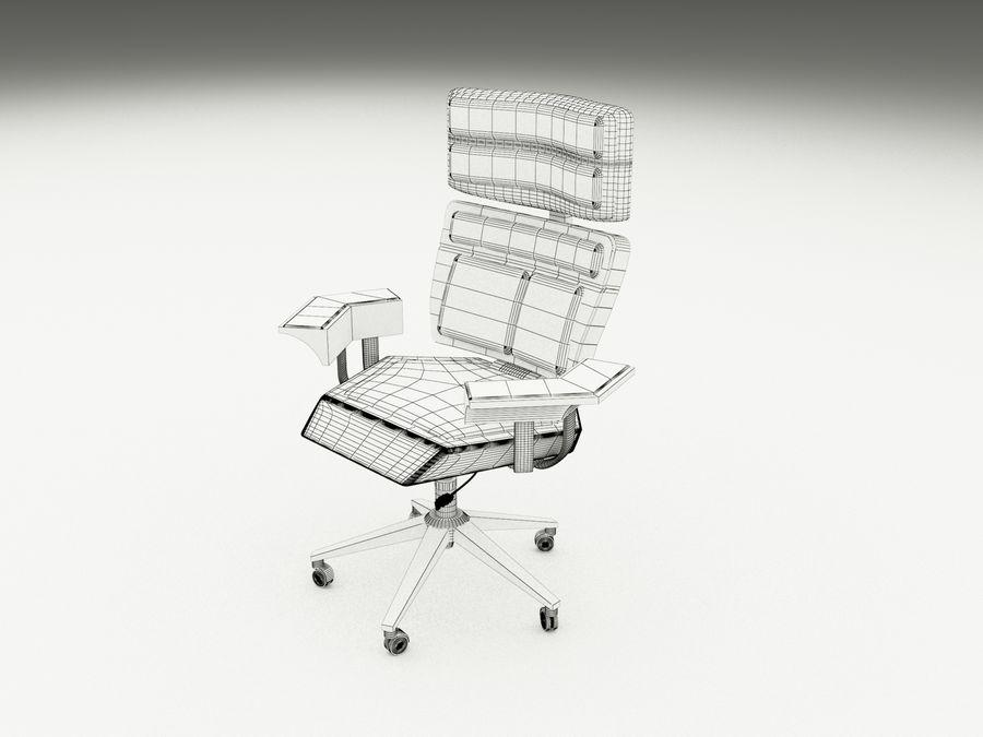 办公椅(1) royalty-free 3d model - Preview no. 7