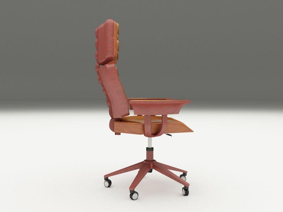 办公椅(1) royalty-free 3d model - Preview no. 4