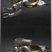 较少的维护无人机 3d model