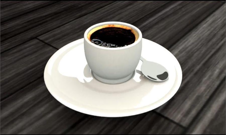 Tasse à café royalty-free 3d model - Preview no. 3