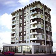 Gebouw exterieur architectuur 3d model