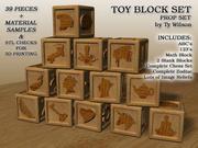 おもちゃブロック 3d model