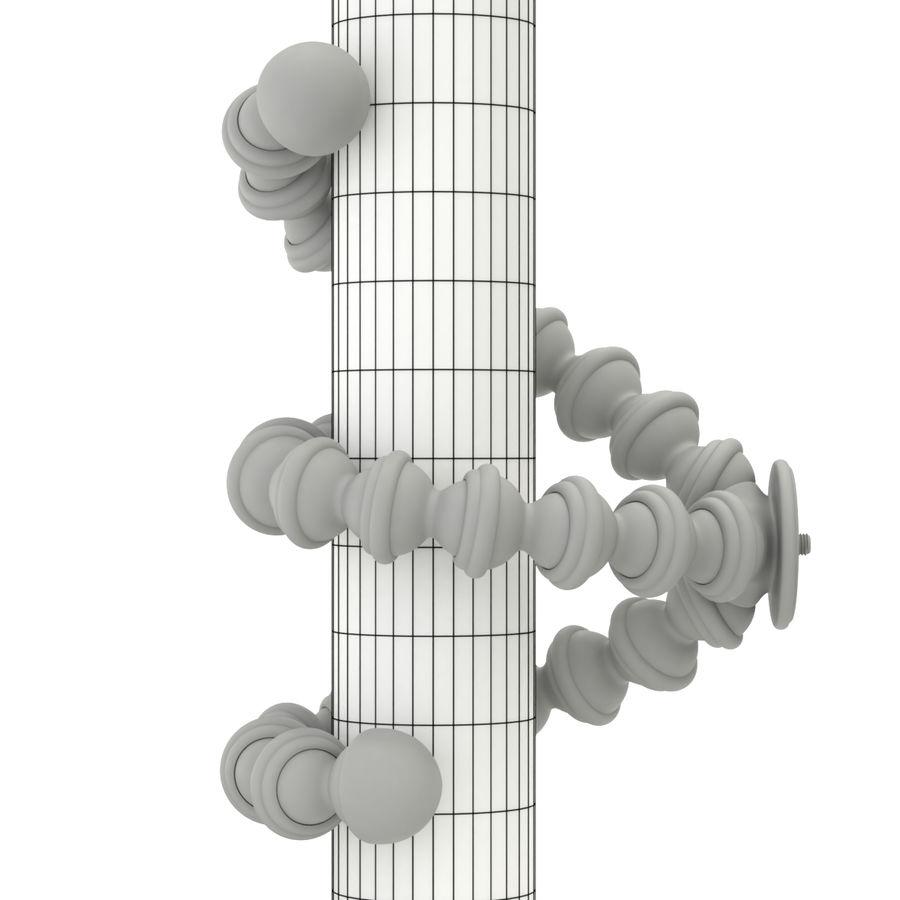 Trípode Gorillapod aparejado para cámara DSLR royalty-free modelo 3d - Preview no. 16