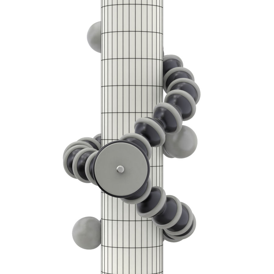 Trípode Gorillapod aparejado para cámara DSLR royalty-free modelo 3d - Preview no. 2