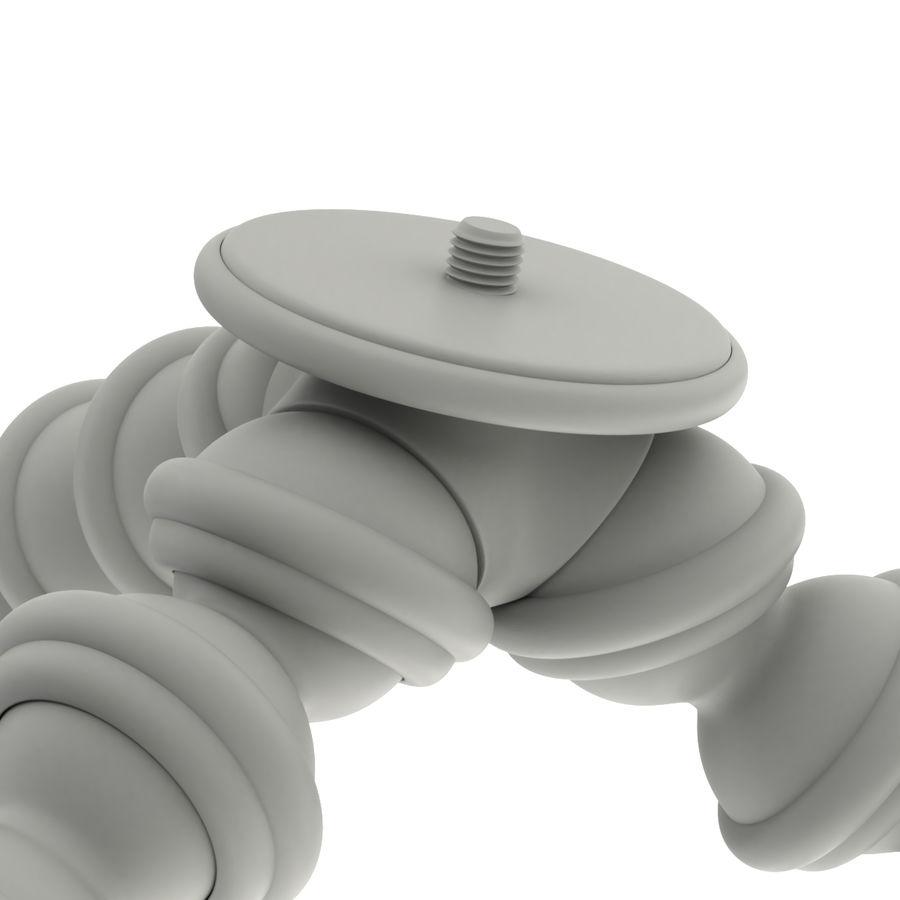 Trípode Gorillapod aparejado para cámara DSLR royalty-free modelo 3d - Preview no. 19