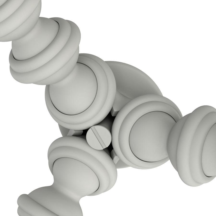 Trípode Gorillapod aparejado para cámara DSLR royalty-free modelo 3d - Preview no. 18