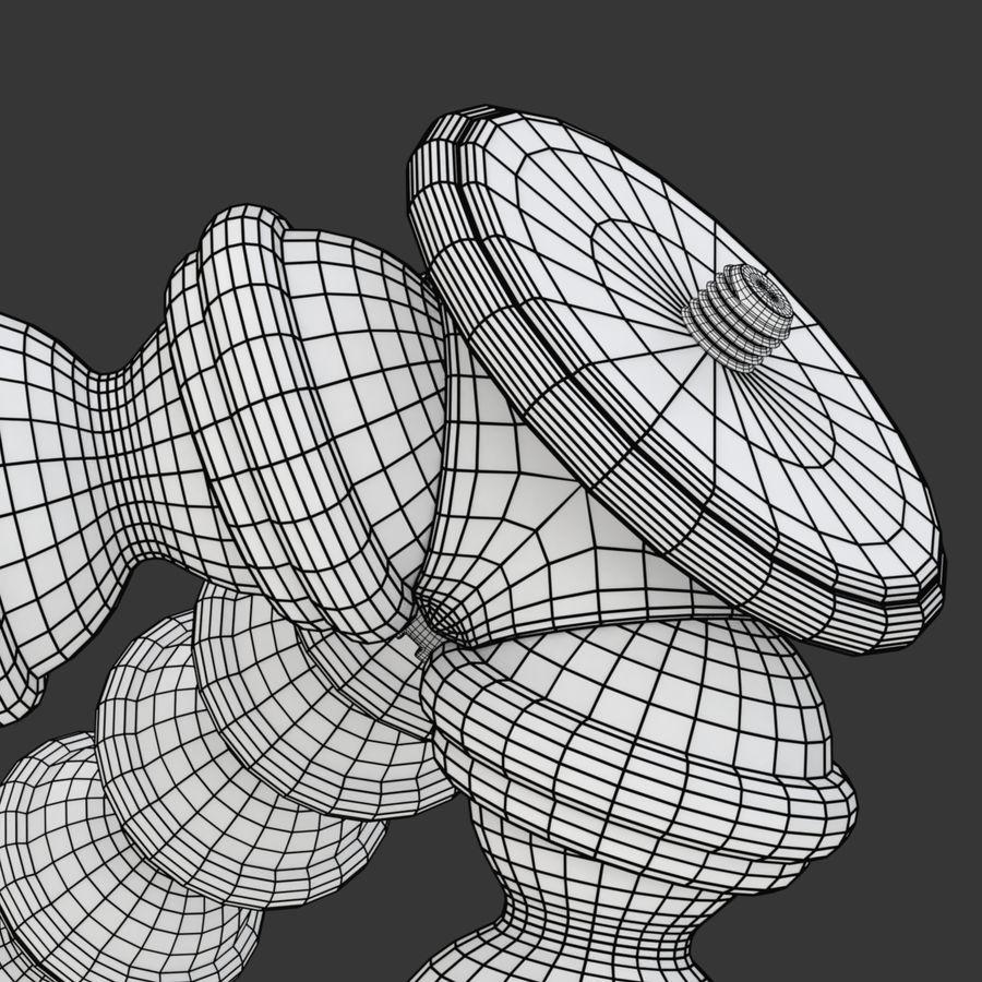 Trípode Gorillapod aparejado para cámara DSLR royalty-free modelo 3d - Preview no. 25