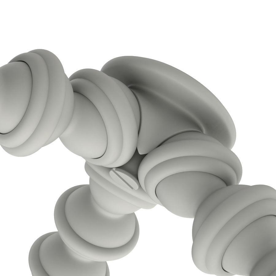 Trípode Gorillapod aparejado para cámara DSLR royalty-free modelo 3d - Preview no. 17