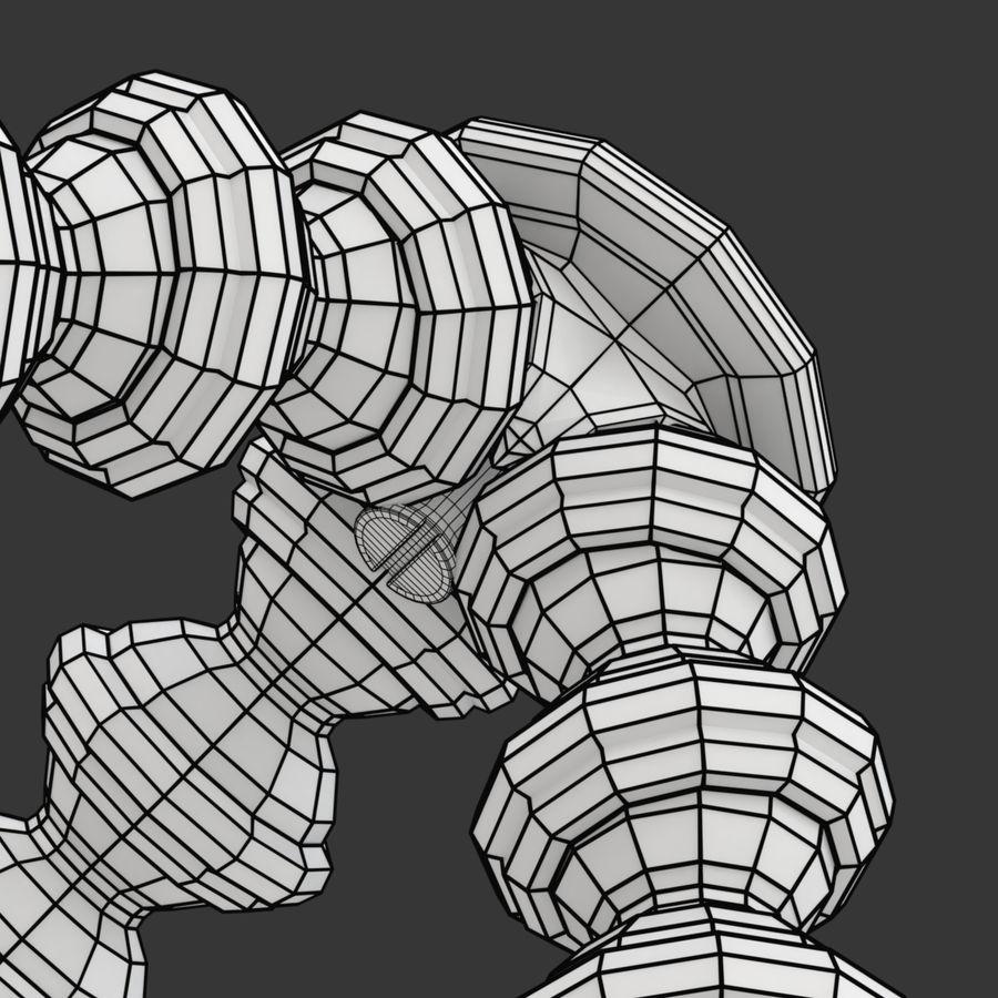 Trípode Gorillapod aparejado para cámara DSLR royalty-free modelo 3d - Preview no. 22