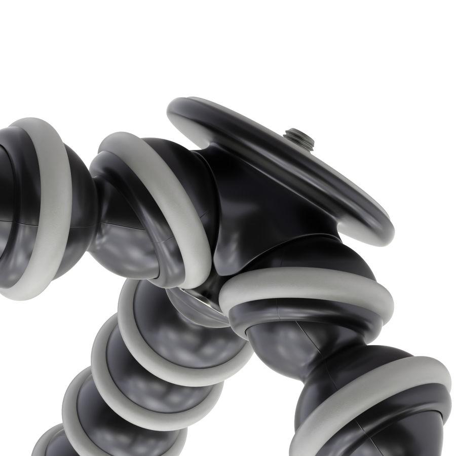 Trípode Gorillapod aparejado para cámara DSLR royalty-free modelo 3d - Preview no. 8